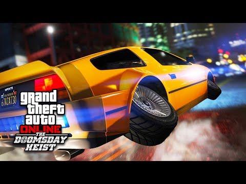 Jetpack, neue Heists, Autos und Waffen | GTA Online Doomsday Heists Update