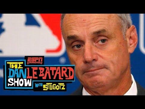 Le Batard grills MLB commish on Derek Jeter slashing Marlins' payroll   Dan Le Batard Show   ESPN