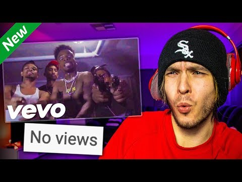 Reacting To Music Videos With 0 VIEWS!