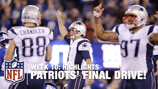 Video Patriots Game-Winning Drive (Week 10) | Patriots vs. Giants | NFL MP3, 3GP, MP4, WEBM, AVI, FLV November 2017