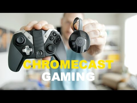 GAMING ON A CHROMECAST?!