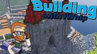 Building with fWhip :: Let's Build a Castle Gatehouse :: #57 Minecraft 1.12 Single Player Survival