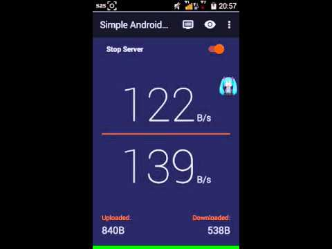 Setting SAS  Simple Android Server