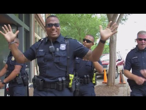 Georgia police department joins viral lip sync battle with