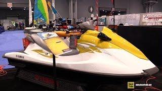 9. 2015 Yamaha WaveRunner V1 Jet Ski - Walkaround - 2015 New York Boat Show