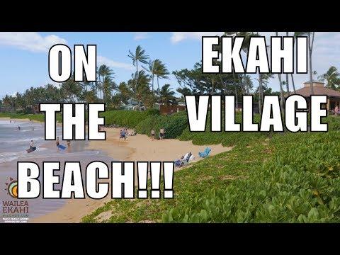 Wailea Ekahi Village - A Beachfront Condo Resort on Maui, Hawaii Real Estate видео