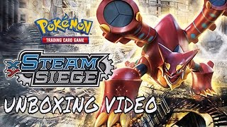 My Very 1st Unboxing of Pokemon Steam Siege Elite Trainers box!!! (DID WE GET ANYTHING GOOD???) by Demon SnowKing
