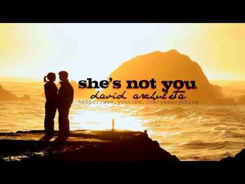 she's not you - david archuleta (lyrics+download link)