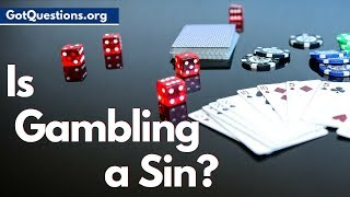 Is gambling a sin? What does the Bible say about gambling? Is playing the lottery a sin? These are real questions the deserve biblical answers. In this video ...