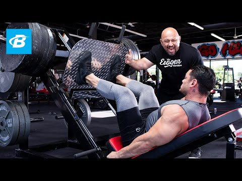 Buen dia - FST-7 Quads Workout with 4x Physique Olympia Jeremy Buendia & Hany Rambod  FST-7: Big and Ripped