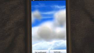 Clouds Live Wallpaper Pro YouTube video