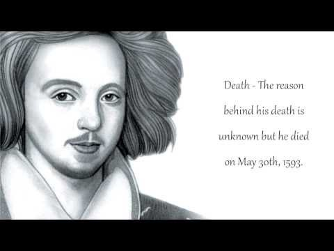 an introduction to the life of christopher marlow Christopher marlowe was born as a cobbler, and christopher was one of many children to be born the last part of marlowe's life was violent and contains some.