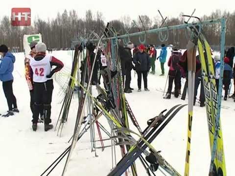 На стадионе Юрьево прошёл второй этап кубка области по лыжным гонкам