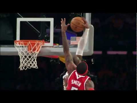 Kobe Dunks on Josh Smith