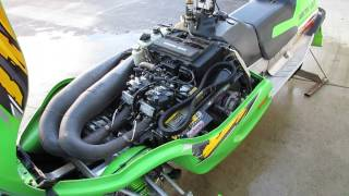 10. 2002 Arctic Cat ZR800 ZR 800 900 1010 D&D Big Bore For Sale, Parts Only!!