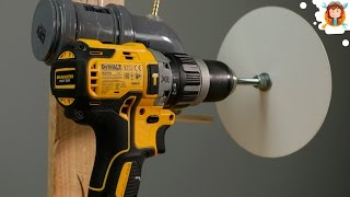 Video 4 Amazing Homemade  Tools - Using a Drill MP3, 3GP, MP4, WEBM, AVI, FLV November 2017