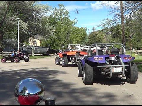 Scenic Mountain Dune Buggy Ride (видео)