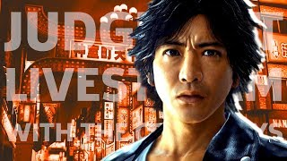Judgment Launch Day Livestream by GameSpot