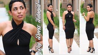 DIY LITTLE BLACK DRESS TUTORIAL