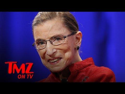 Ruth Bader Ginsburg Breaks 3 Ribs in Office Fall! | TMZ TV