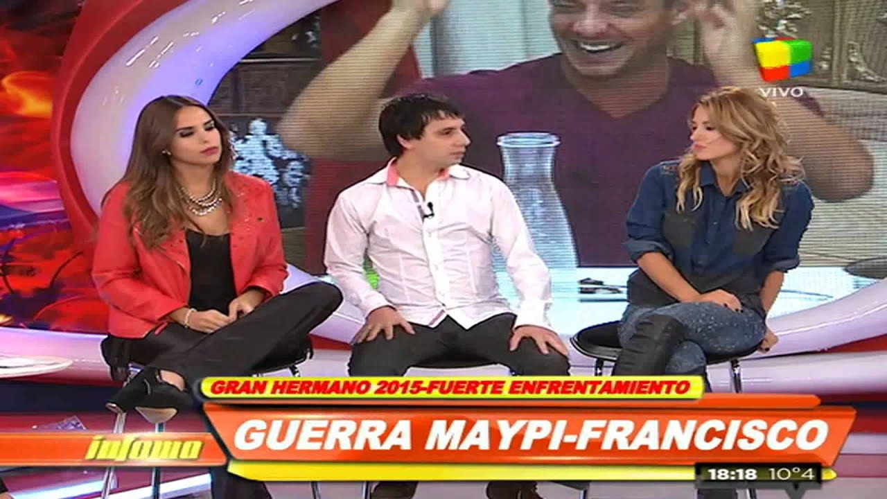 Francisco: «Maypi me traicionó» #GH2015 #GranHermano