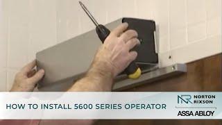 Norton 5600 Operator Installation Video thumbnail