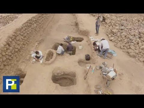 Hallan los restos de más de 100 niños enterrados frente al mar en Perú