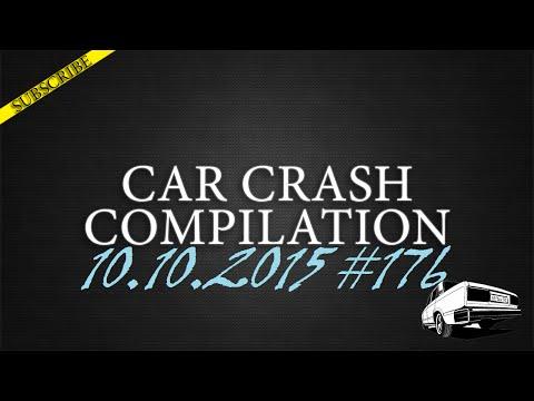 Car crash compilation #176 | Подборка аварий 10.09.2015
