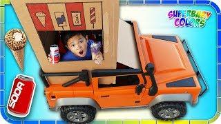 Video SODA Ice Cream Vending Machine TRUCK!!! Kids Pretend Play! MP3, 3GP, MP4, WEBM, AVI, FLV Oktober 2018