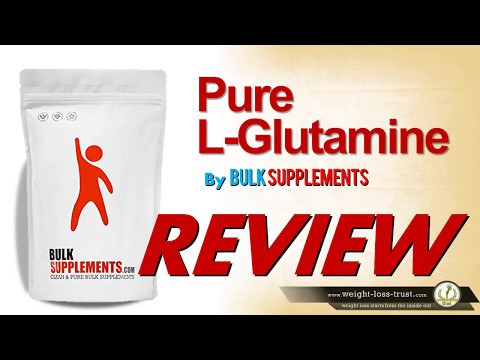 Pure L-Glutamine Powder by BulkSupplements Review