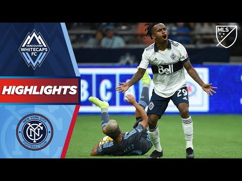 Video: Vancouver Whitecaps FC vs. NYCFC | HIGHLIGHTS - August 31, 2019
