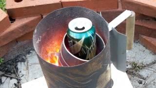Very Simple Aluminum Furnace
