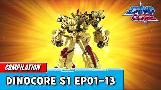 Video [DinoCore] Compilation | S01 EP01 - 13 | Best Animation for Kids | TUBA MP3, 3GP, MP4, WEBM, AVI, FLV Juni 2019