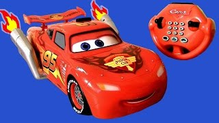 Video CARS 2 U-Command Lightning McQueen with Smoking Tailpipes Lights n Sounds R/C Water Toy MP3, 3GP, MP4, WEBM, AVI, FLV Juni 2017