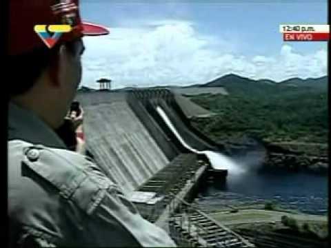 Lago de Guri el lunes 13 de septiembre alcanzó su máximo nivel: Edelca abrió nuevamente compuertas del Guri