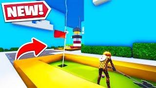 MINI GOLF In Fortnite Creative! (Full Mini GOLF COURSE!)