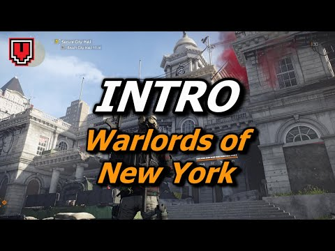 Intro (City Hall & Haven) // THE DIVISION 2: WARLORDS OF NEW YORK walkthrough gameplay, part 1