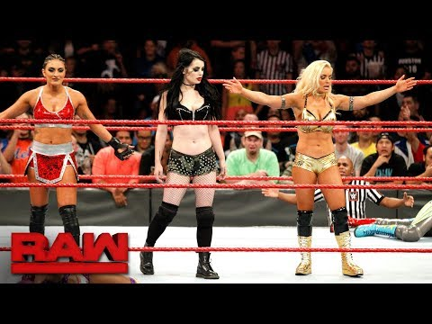 Paige returns to WWE alongside Raw newcomers Mandy Rose and Sonya Deville: Raw, Nov. 20, 2017