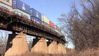 Alva (OK) United States  city photos gallery : BNSF Transcon Cantilever Signal Bridge - Alva Oklahoma