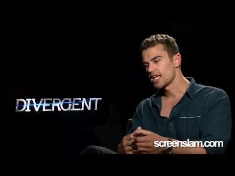 Divergent: Exclusive Interview with Theo James