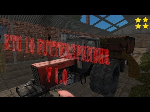 KTU 10 feed dispenser v1.0