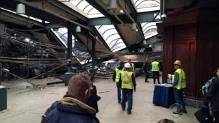 No answers from data recorders yet on cause of Hoboken train crash