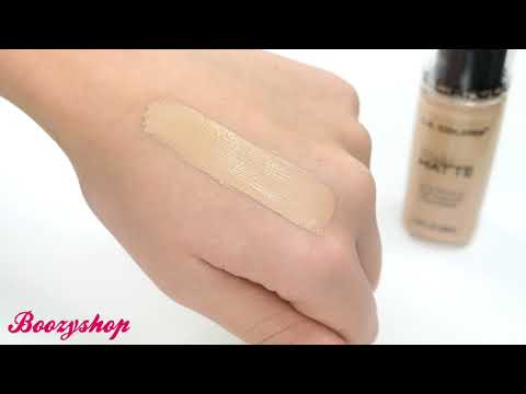LA Colors LA Colors Truly Matte Foundation Cool Beige