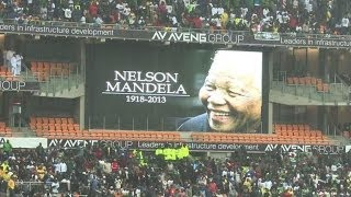 Mandela's memorial service marks historical turning point
