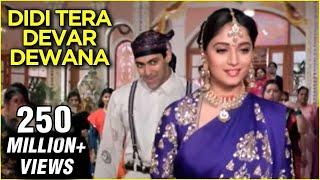 Video Didi Tera Devar Deewana - Hum Aapke Hain Koun - Lata Mangeshkar & S. P. Balasubramaniam's Hit Song MP3, 3GP, MP4, WEBM, AVI, FLV Desember 2018