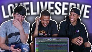 Video LoveLiveServe Tries Making A Beat From Scratch!!! | Making A Beat From Scratch | Sharpe MP3, 3GP, MP4, WEBM, AVI, FLV Desember 2018