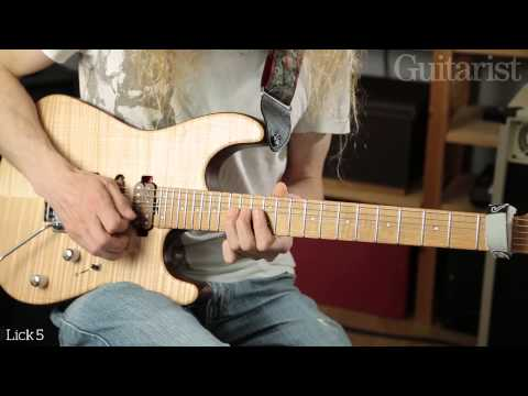Guthrie Govan String Bending Masterclass - Part One