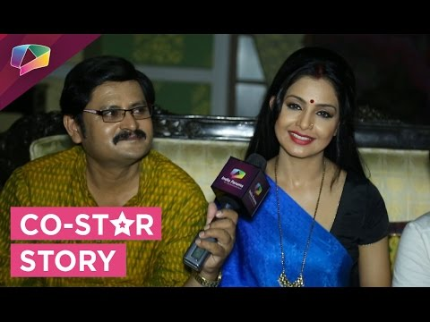 Shubhanghi Atre and Rohitash Gaud The Co Star Stor