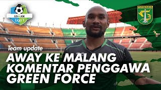 Video Away ke Malang, kata penggawa Green Force | PERSEBAYA MP3, 3GP, MP4, WEBM, AVI, FLV Oktober 2018