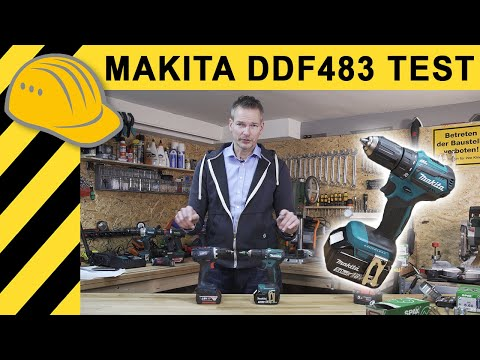 AKKUSCHRAUBER TEST   MAKITA DDF 483 18V Akkuschrauber Testbericht & Vergleich Bosch & Metabo